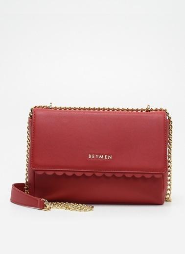 Beymen Messenger / Askılı Çanta Kırmızı